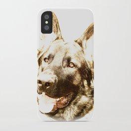 Happy Shepherd iPhone Case