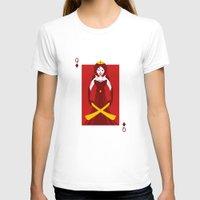 berserk T-shirts featuring Queen of Diamonds - Berseker queen by Thirdway Industries Shop