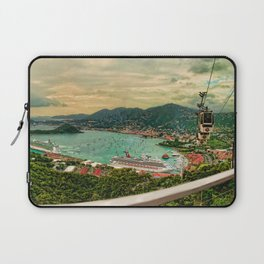 A View from Above St. Thomas Laptop Sleeve