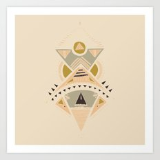 Pyramids 3 Art Print