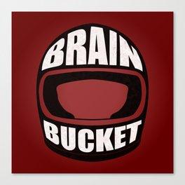 Brain bucket Canvas Print
