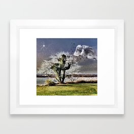 SAVE OUR DREAMERS Framed Art Print