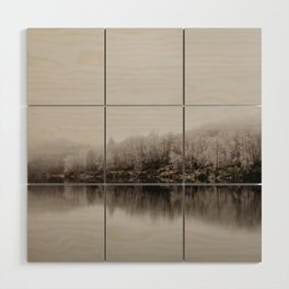 Trout Lake Wood Wall Art