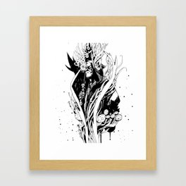 Stoner Warrior Framed Art Print