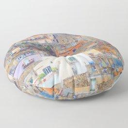 Mediterranean journey-Sicily Floor Pillow