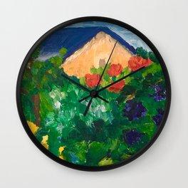 Jardins d'Henriette Wall Clock