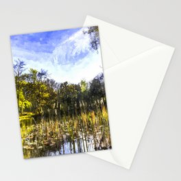 The Bulrush Pond Art Stationery Cards