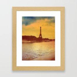 Paris from a Distance  Framed Art Print