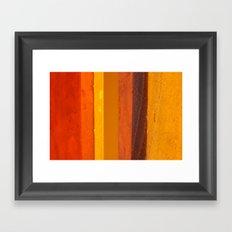 praia Framed Art Print