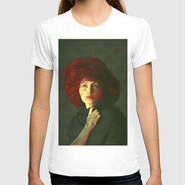 The red hat T-shirt