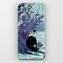 A Quiet Spot of Tea iPhone Skin