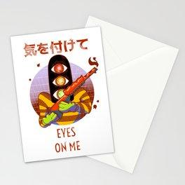 Kiotsukete! Eyes On Me Stationery Cards