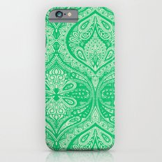Simple Ogee Green Slim Case iPhone 6s
