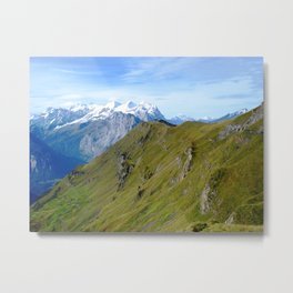 High Altitude Metal Print