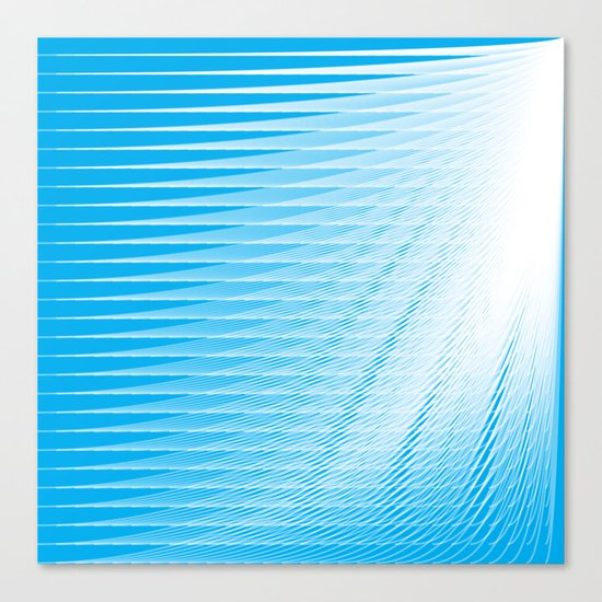 frozen still Canvas Print