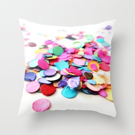Confetti Sprinkle 6 Throw Pillow