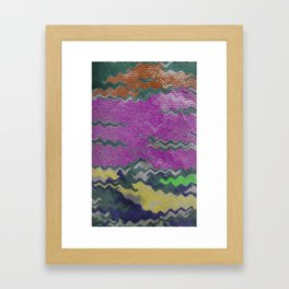 Rippled Framed Art Print