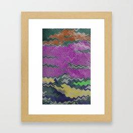 Rippled Framed Art Print