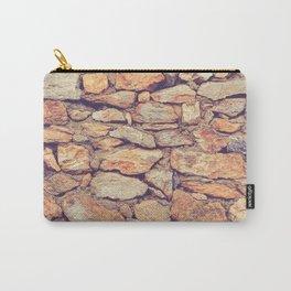 Rocky Stone Masonry Cladding Carry-All Pouch