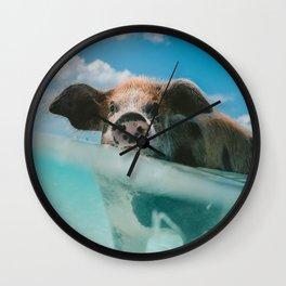 That piggy life Wall Clock