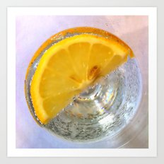 Fresh Lemon Art Print