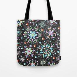 Snowflake Filigree Tote Bag