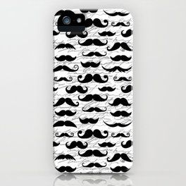 Hipster Mustache iPhone Case