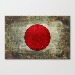 The national flag of Japan Canvas Print