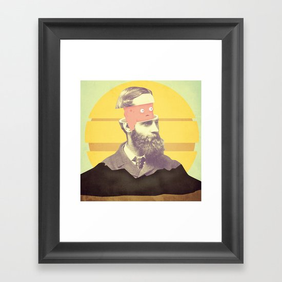 we are creating the future Framed Art Print