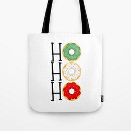 Ho Ho Ho - Holiday Donuts Tote Bag