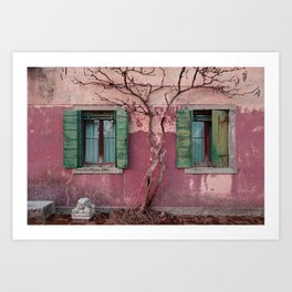 Venice House Art Print