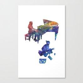 Harmony Through Color Canvas Print