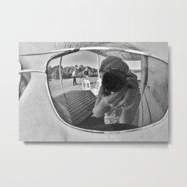 Reflections of Montgomery Metal Print