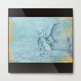 The Gargoyle Metal Print