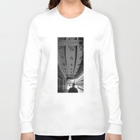 theatre Long Sleeve T-shirts featuring LA THEATRE by KING