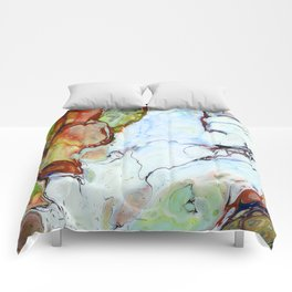 Crushed Abstract #abstract #pattern #society6 Comforters