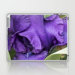 Iris Petal and Beard Laptop & iPad Skin