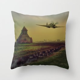 Low At Fairfield Throw Pillow