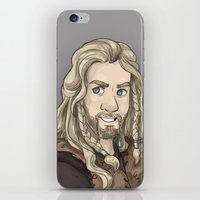 fili iPhone & iPod Skins featuring Fili by quietsnooze