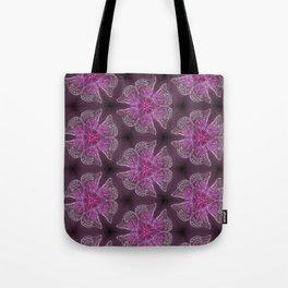 Glowy Butterflies–Pink & Magenta Palette Tote Bag