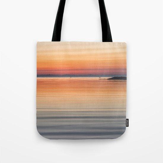 Ripples sea and sky Tote Bag