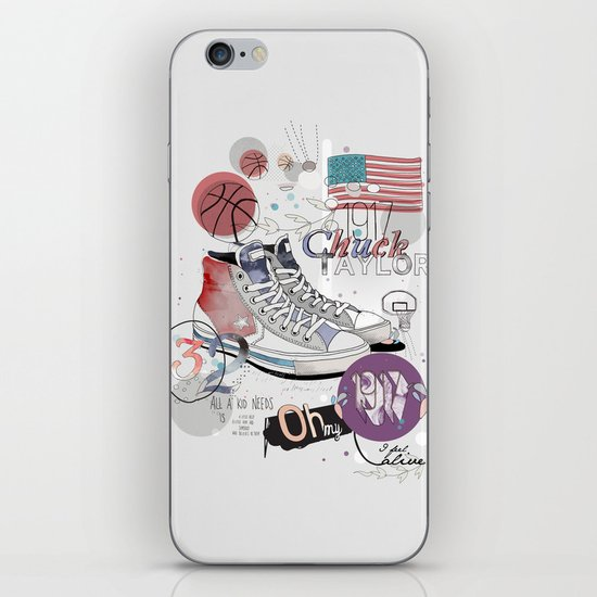 The Chuck Taylor iPhone & iPod Skin