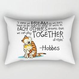 Calvin and Hobbes Dreams Rectangular Pillow