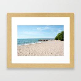 AFE Kew-Balmy Beach 5 Framed Art Print