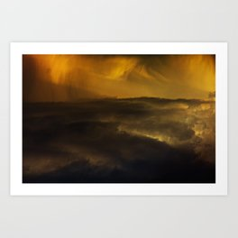 Gloomy Sky 0015 Art Print