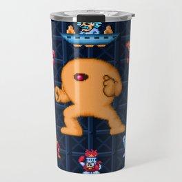 Man Mega One Pixels Travel Mug