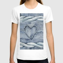 warm heart T-shirt
