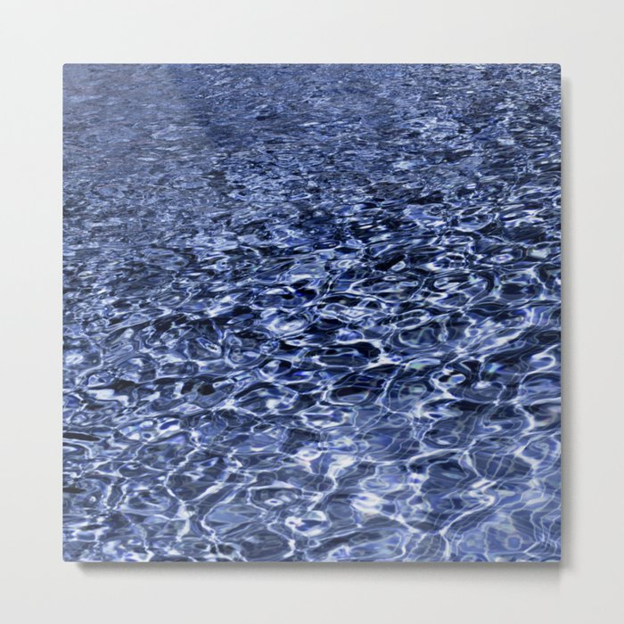 water and ripples Metal Print