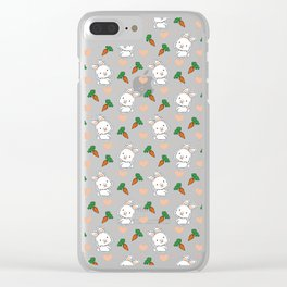Happy Easter Clear iPhone Case