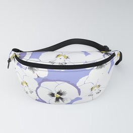 Pansy looks up at the sky Fanny Pack